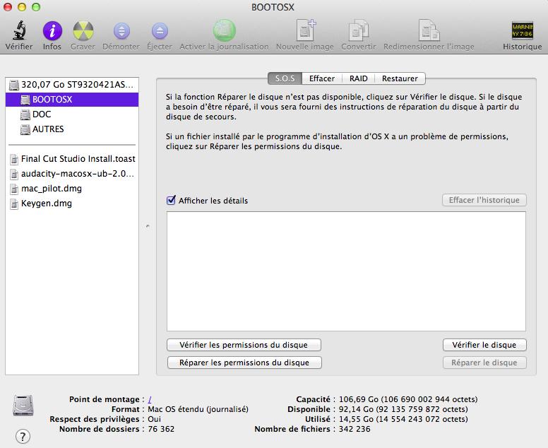 TUTO Moutain Lion sur Laptop CLEVO M860TU Captur15