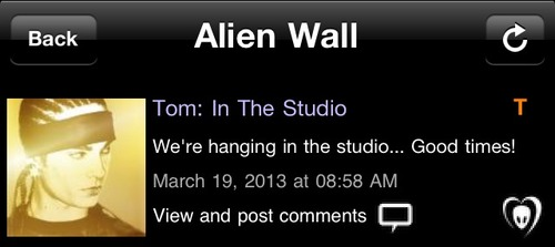 [19.03.2013] BTK APP TWINS @Tom: In The Studio Tumblr30
