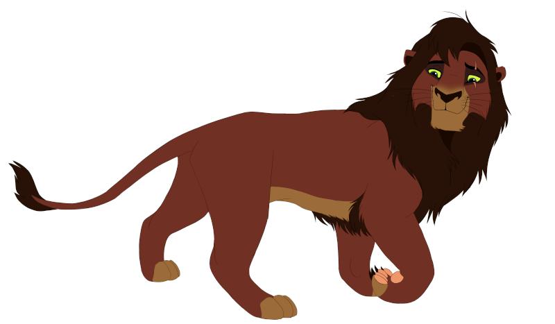 Kovu, Roi de la Terre des Lions Kovu_p12