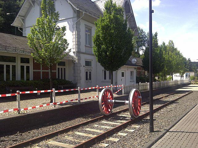 Bahnhof Netphen - Deuz 7n10
