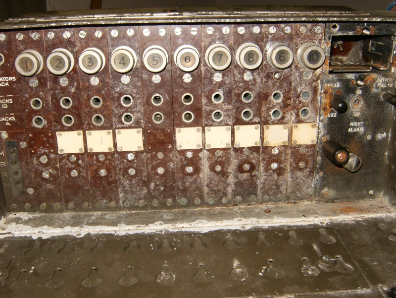 Need help restoring a ww2 Canadian Universal Call 10 Line Switchboard Septem10