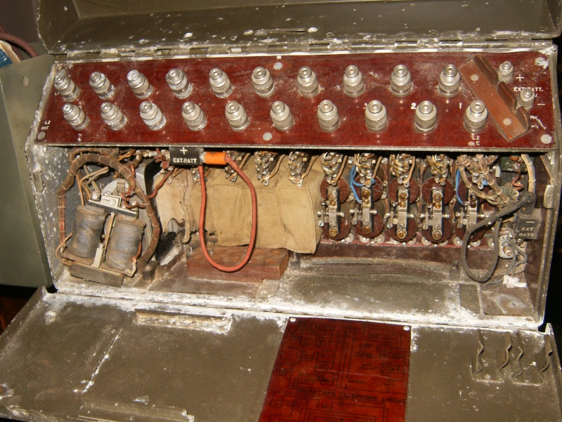 Need help restoring a ww2 Canadian Universal Call 10 Line Switchboard Septem11