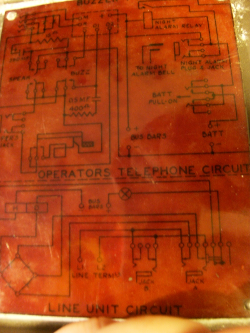 Need help restoring a ww2 Canadian Universal Call 10 Line Switchboard Septem13