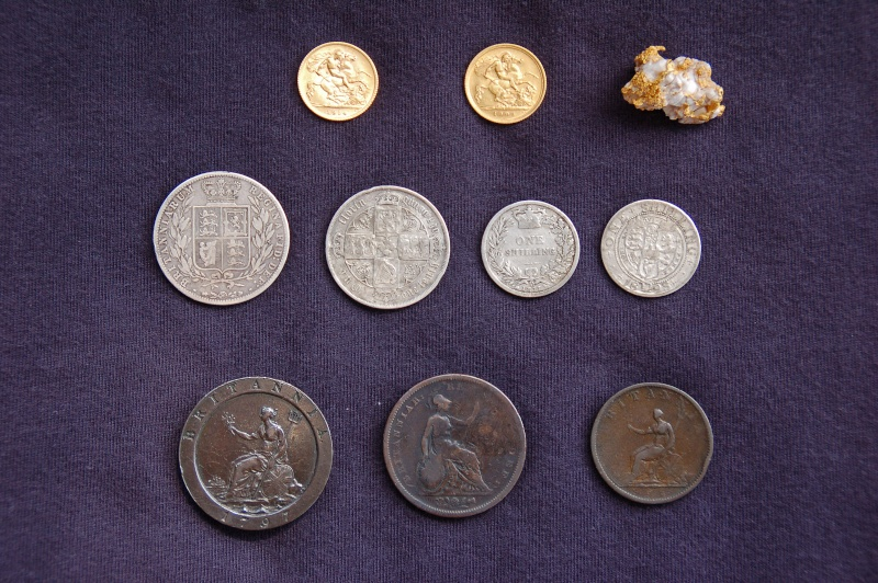 Some coin finds from my pre gold days (oh and a little speccie lol ) Dsc_0310