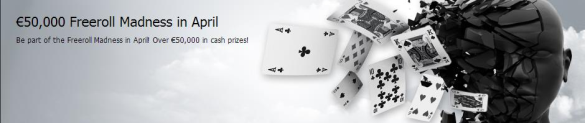 24hpoker €50,000 Freeroll Madness may promotion Freero10