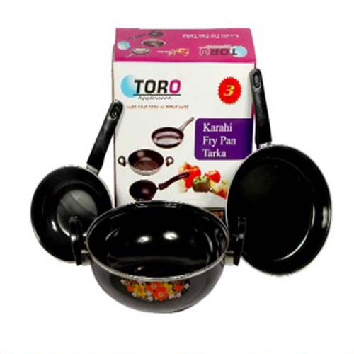 Toro Cook and Serve ware (Set Of 3) @349+29 Dsc92410