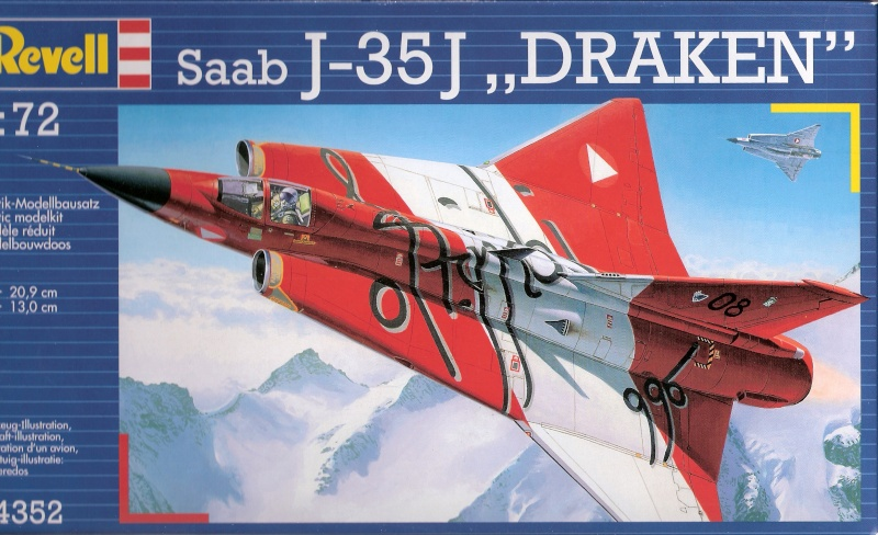 [Revell] J-35J draken - Fini Revell10