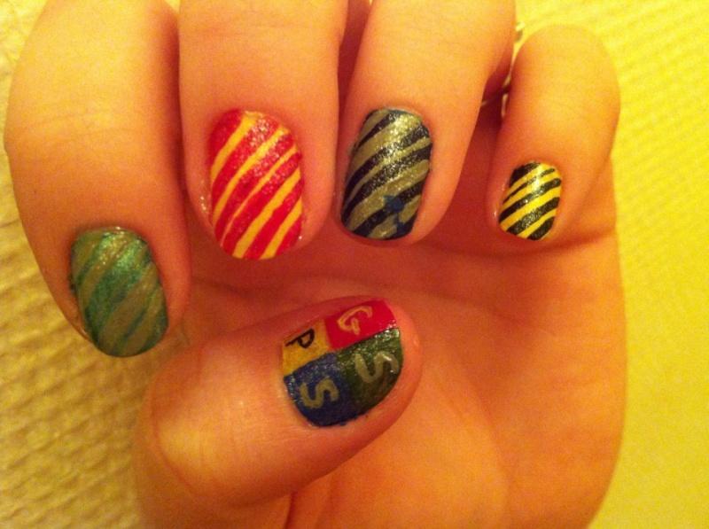 Nail Art Harry Potter 90894810