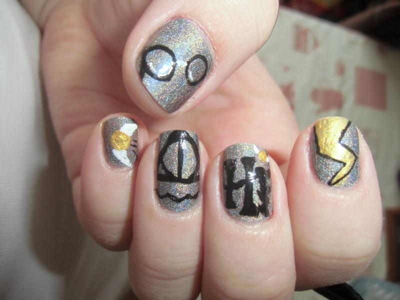 Nail Art Harry Potter Cimg3310