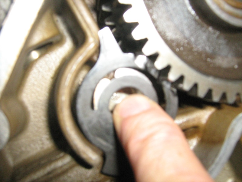 Removing Cover Plate from Clutch Assy. Img_4211