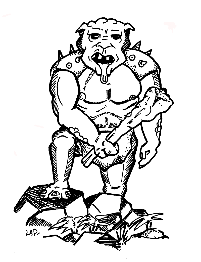 Illustrateur mercenaire Troll10
