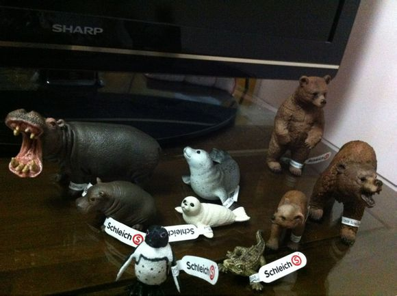 my new 2013 schleich animals 29343412