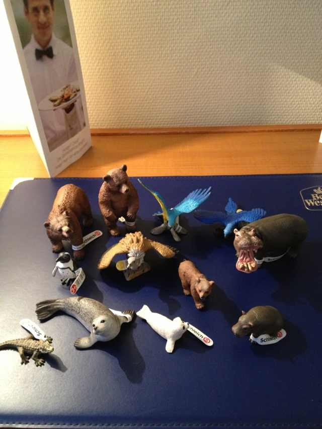 my new 2013 schleich animals Pictur16