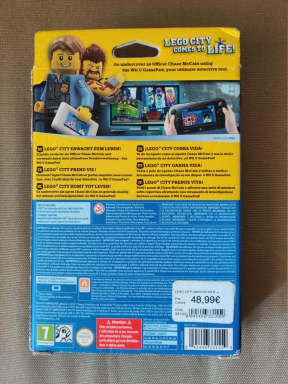 [ECH] Jeu WiiU Lego city undercover limited edition, neuf Img_2052