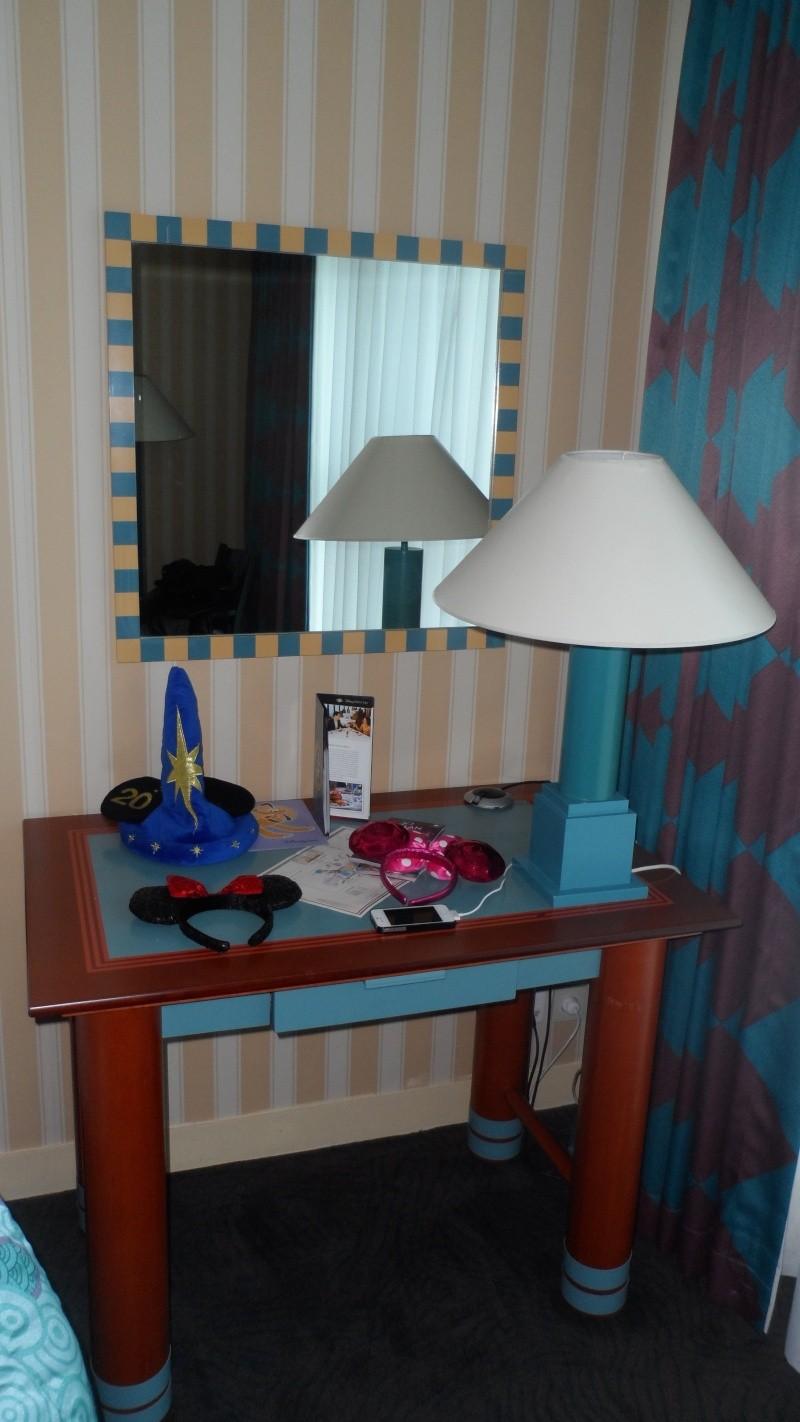 Séjour chez Mickey le mercredi 17 et jeudi 18 avril à l'hôtel New York 13710