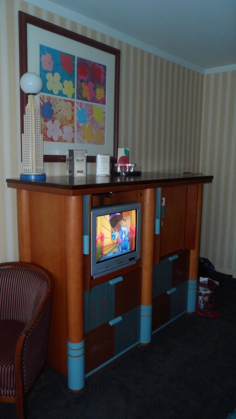 Séjour chez Mickey le mercredi 17 et jeudi 18 avril à l'hôtel New York 14010