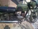 la petite verte en rénovation TS 125 1975  Moissy12