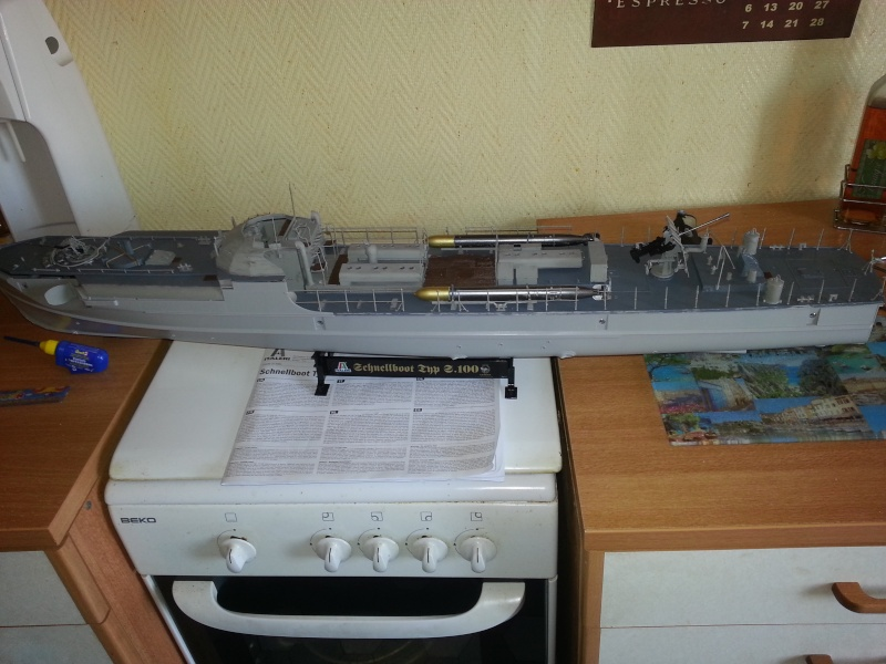 schnellboot s-100 ITALERI 1/35 transformable RC 20130918