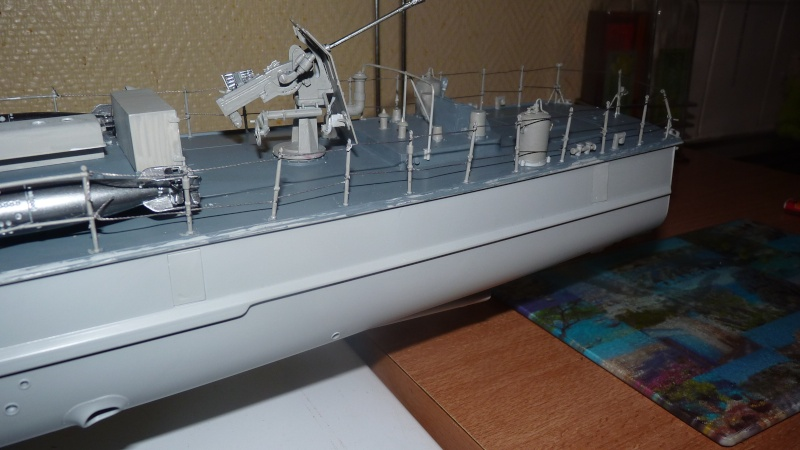 schnellboot s-100 ITALERI 1/35 transformable RC P1020813
