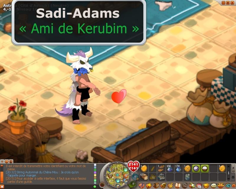 Candidature de Sadi-Adams 311