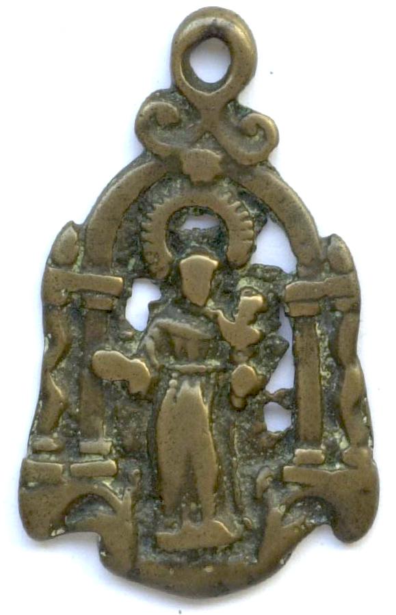 medalla calada San Antonio de Padua. (PFV Antonio 21) Antoni11