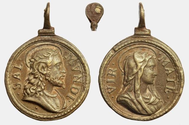Recopilación medallas con el Rostro de Cristo ( Salvator Mvndi II) B068_d10