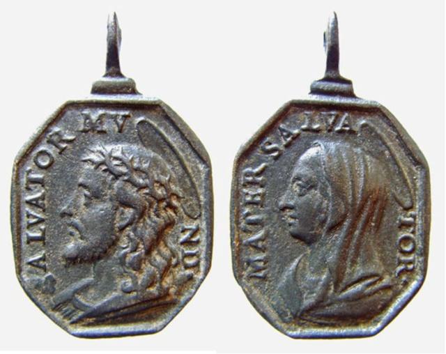 Recopilación medallas con el Rostro de Cristo ( Salvator Mvndi II) B18_je10