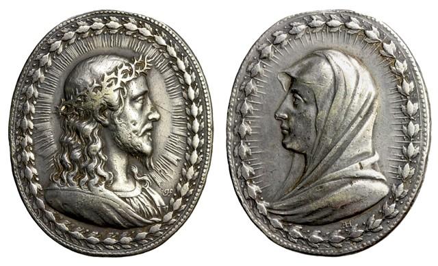 Recopilación medallas con el Rostro de Cristo ( Salvator Mvndi II) C11_je10