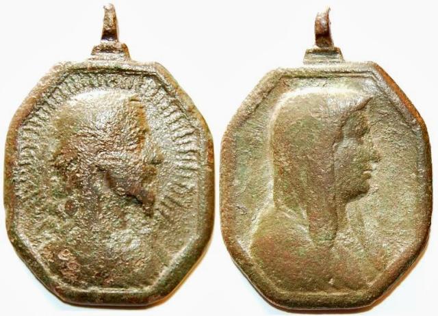 Recopilación medallas con el Rostro de Cristo ( Salvator Mvndi II) C13_je10