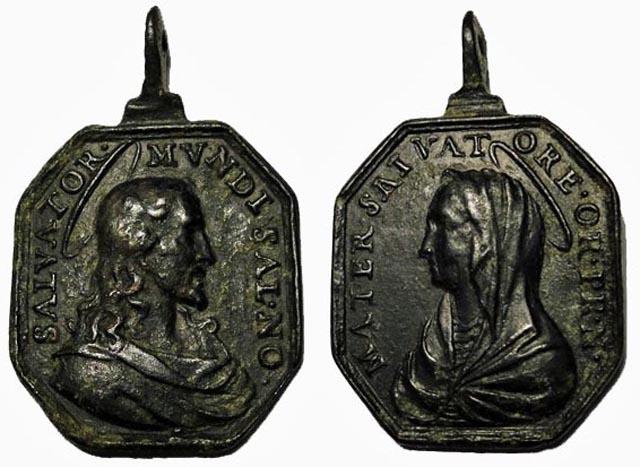 Recopilación medallas con el Rostro de Cristo ( Salvator Mvndi II) C15_je10