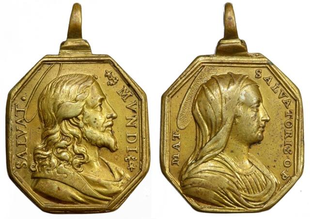 Recopilación medallas con el Rostro de Cristo ( Salvator Mvndi II) C18_je10