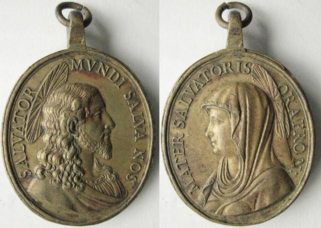 Recopilación medallas con el Rostro de Cristo ( Salvator Mvndi II) E10_je10