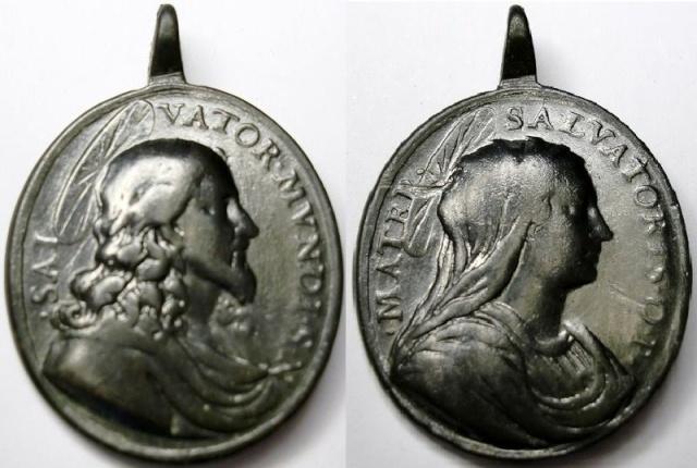 Recopilación medallas con el Rostro de Cristo ( Salvator Mvndi II) E12_je10