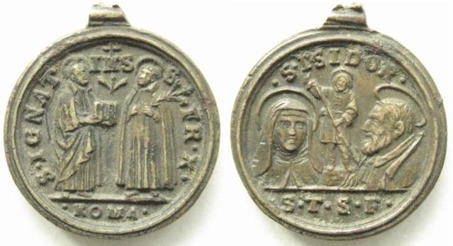 Recopilacion 180 medallas de San Ignacio de Loyola Z47_sa10