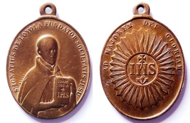 Recopilacion 180 medallas de San Ignacio de Loyola Z61_ig10