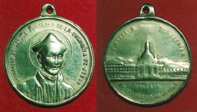 Recopilacion 180 medallas de San Ignacio de Loyola Z63_ig10