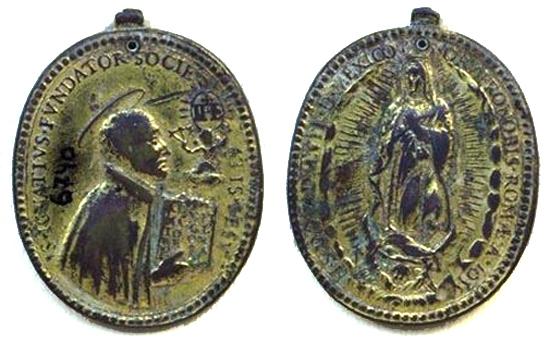Recopilacion 180 medallas de San Ignacio de Loyola Zz1_1610