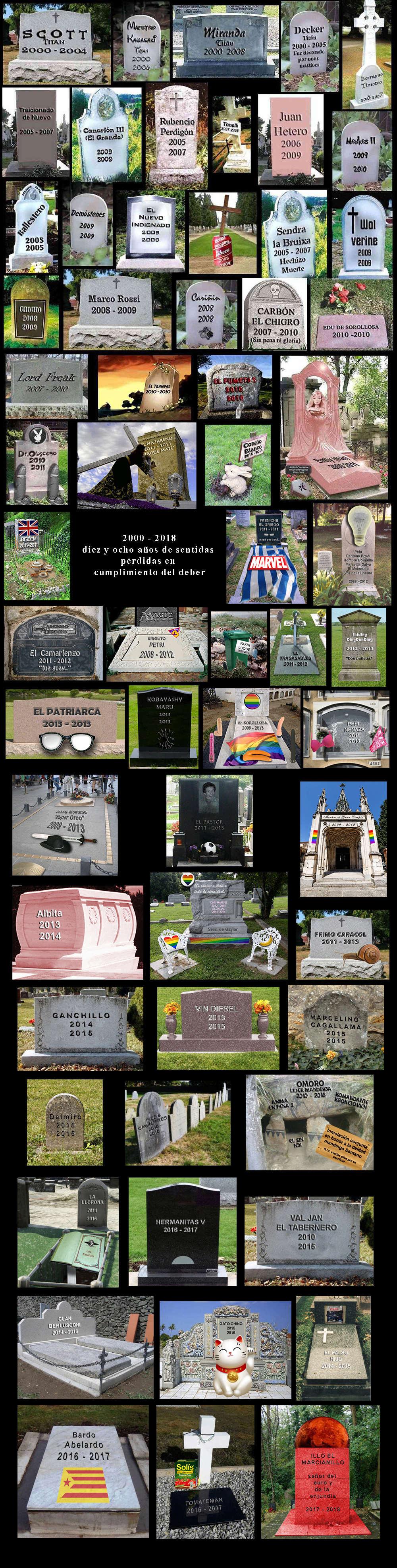 El Cementerio de los caídos Campos11