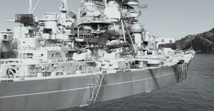 Bismarck 1:200 Trumpeter von Günter - Seite 8 Bising12