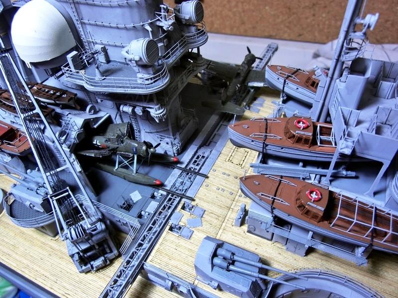 Bismarck 1:200 Trumpeter von Günter - Seite 7 Cimg0035