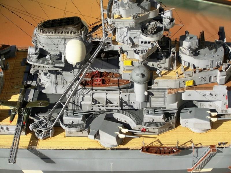 Bismarck 1:200 Trumpeter von Günter - Seite 8 Cimg0118