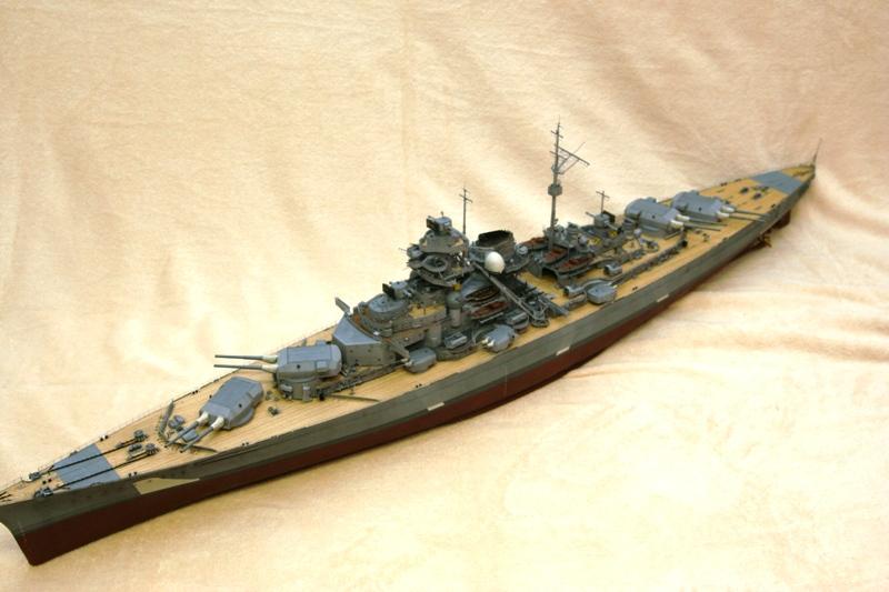 Bismarck 1:200 Trumpeter von Günter - Seite 7 Img_9515
