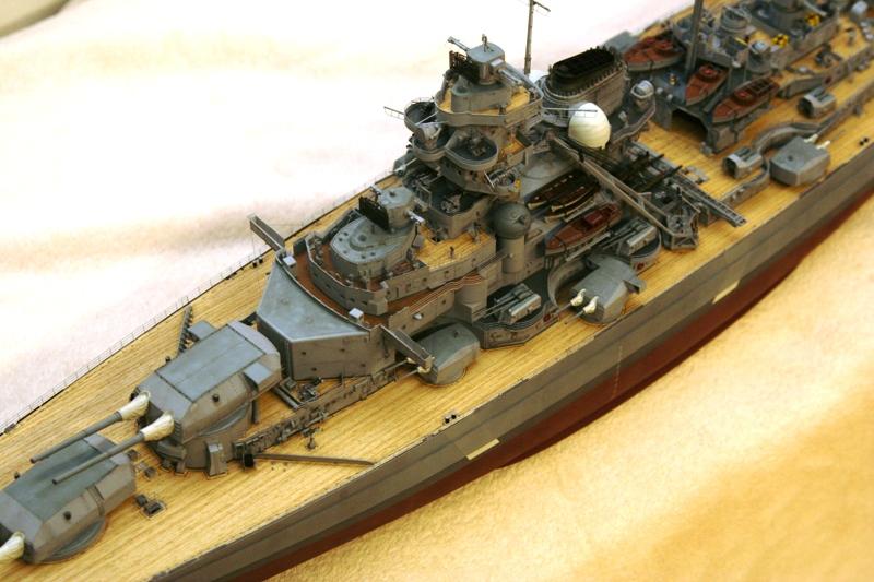 Bismarck 1:200 Trumpeter von Günter - Seite 7 Img_9613