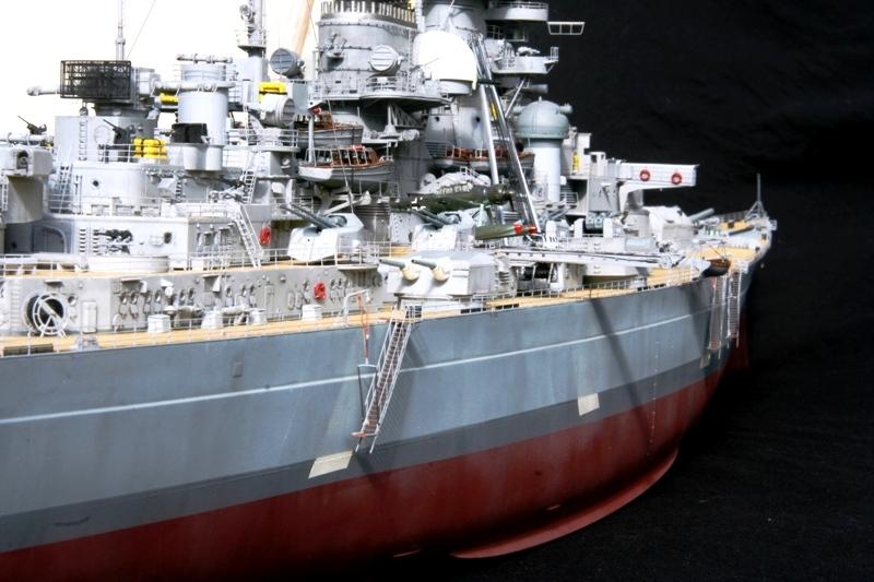 Bismarck 1:200 Trumpeter von Günter - Seite 7 Img_9620