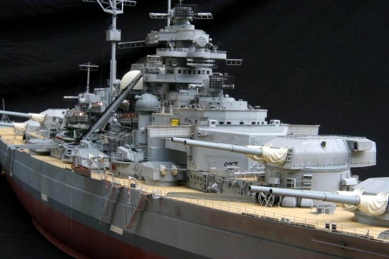 Bismarck 1:200 Trumpeter von Günter - Seite 7 Img_9624