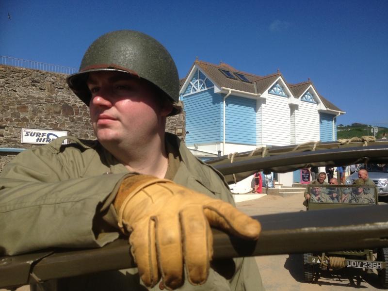 US Assault Training Centre 70th Anniversary - Woolacombe Bay Img_1715