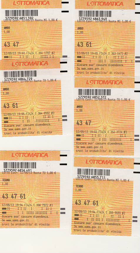 """GChiaramida - Metodo """"LA FENICE"""" versione TERNO SECCO! Mail0010"""