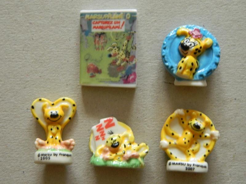 La Petite Collection d'objets du P'tit Spirou, de Spirou et de Marsupilami Dscn7514