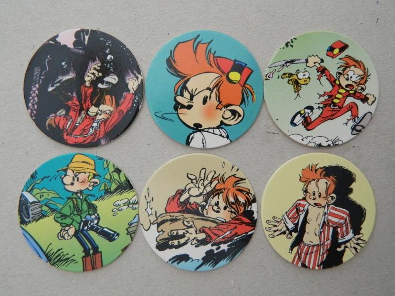 La Petite Collection d'objets du P'tit Spirou, de Spirou et de Marsupilami Dscn7635
