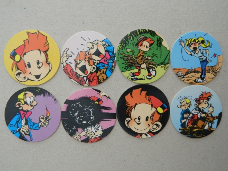 La Petite Collection d'objets du P'tit Spirou, de Spirou et de Marsupilami Dscn7639